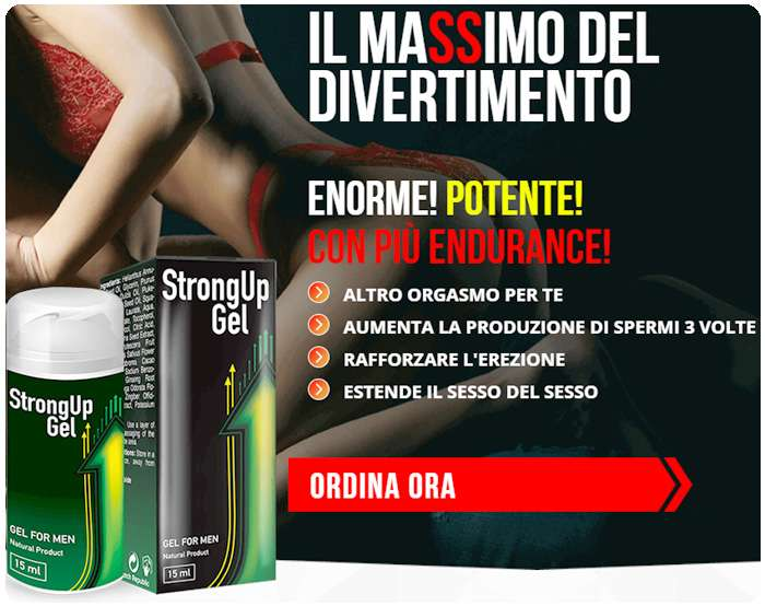 StrongUp gel ordine ad un prezzo accessibile.