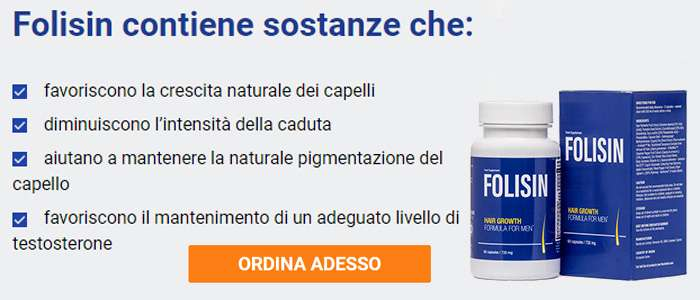 Folisin ordine ad un prezzo accessibile.